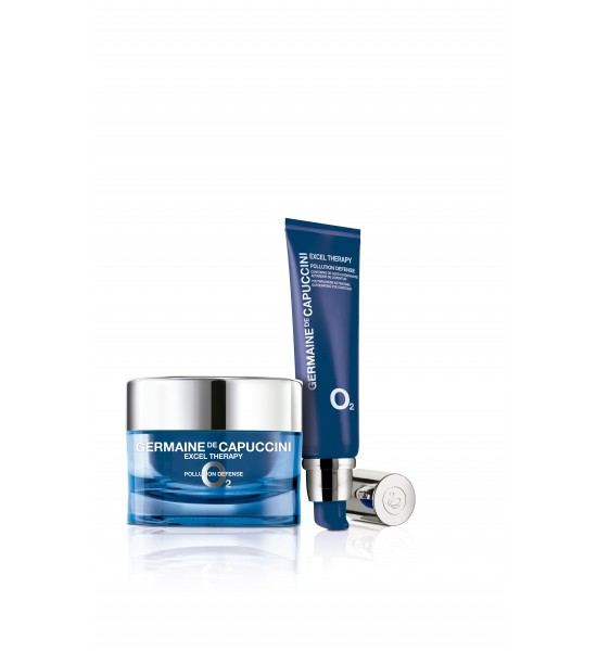 EXCEL THERAPY 02 POLLUTION DEFENCE CREAM 50ML EXCEL THERAPY POLLUTION DEFENCE EYE CREAM 15ML
