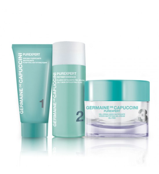 PUREXPERT 1-2-3 OILY SKIN PROGRAMME  Promotional Pack