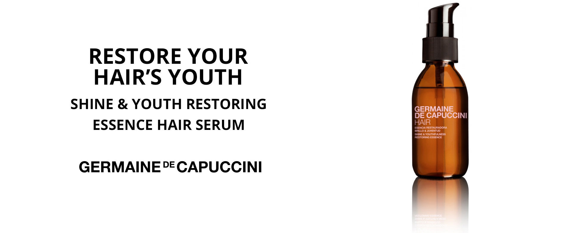 Shine & Youth Restoring Essence Hair Serum